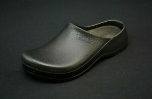 Birkenstock Super Birki Black Rubber Mules Clog Sandals 43 M 10