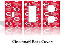 Cincinnati Reds #2 Light Switch Covers Baseball MLB Home Decor Outlet
