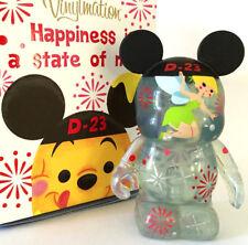 "DISNEY VINYLMATION 3"" JAPAN D23 EXPO 2013 SERIES TINKER BELL PETER PAN TOY VINYL"