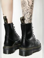 Dr. Martens Women`s Jadon Style BLACK Smooth All Size From 5-10 Limited Stock!