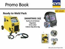 GYS Smartmig 162 Welder 160A 230v Ready to Weld Promo Pack