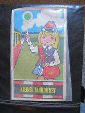 Kleiner Fahrdienst Kinder-Schaffner Kostüm Deutsche Reichsbahn der DDR Famos OVP