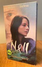 NELL 1995 VHS Jody Foster, Liam Neeson