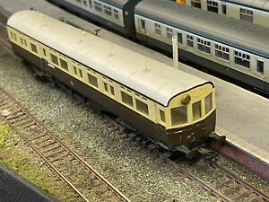 """AIRFIX Oo Gauge - 54255 - GWR Brown/Cream AUTOCOACH 187 """"DIDCOT"""" - Unboxed"""