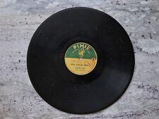"Leonard Stokes Real Salor Songs Record 10"" 78rpm P-2 Pixie"