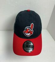 New Era 49Forty Cleveland Indians Wahoo Core Fit Fitted Cap Hat Adult Size XS