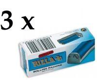 3pcs Rizla Rolling Machine Regular Plastic (Original Retail Box)