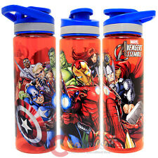 Marvel Avengers Water Bottle Clear 25 Oz Tritan Tumbler Drink Container