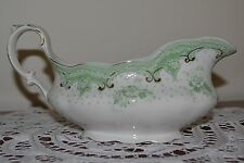 STUNNING Alfred Meakin Selwyn Royal Semi porcelain GRAVY BOAT ANTIQUE