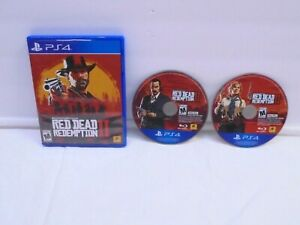 Red Dead Redemption II PS4 Video Game EUC