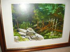 Ray Horner Jr. Signed Print-2006-Named New Haven-Numbered 10 of 100-Framed/Matte