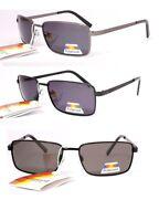 lunettes de soleil polarisantes polarisées verres polarisés homme femme CH058 (monture gun metal verres bleu gris, largeur:135mm hauteur:35mm)