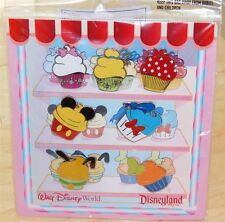 Official Disney Park Characters Themed CupcakeTrading Pins 7 Pack 2011 Brand New
