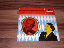 Single -- Karl Valentin + Liesl Karlstadt // Feuerwerk-Radler von 1958