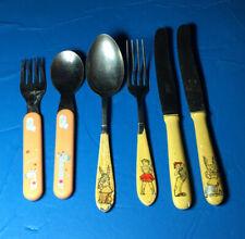 Childrens Vintage Spoons Forks Knives Flatware Tableware -Bebe Comfort, Rosterei