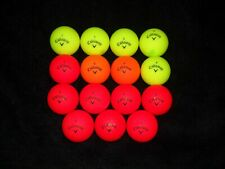 New listing 15 Red / Yellow Callaway SuperHot Matte Golf Balls