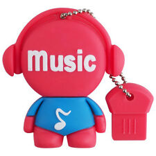 8GB USB 2.0 Pen Drive Flash Drive Pen Drive Memory Stick / Music Red