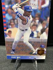1993 Upper Deck SP #89 Sammy Sosa Baseball Trading Card