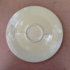 Homer Laughlin Post 86 FIESTA Yellow Hostess TRAY Plate Mint RETIRED COLOR