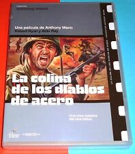LA COLINA DE LOS DIABLOS DE ACERO / MEN IN WAR - Anthony Mann 1957 Precintada