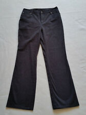 """Nordstrom Jeans Size 8 Black Wash Mid Rise Boot Cut Soft Cotton 29"""" Inseam"""