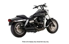 """FireBrand - 13-1002 - Black 3"""" Loose Cannon Slip-On Exhaust 1991-Up Harley Dyna"""
