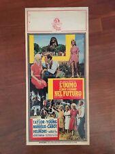 LOCANDINA,S11,L'UOMO CHE VISSE NEL FUTURO,THE TIME MACHINE,PAL TAYLOR SCI-FI