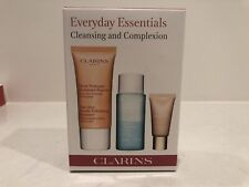 Clarins Everyday Essentials Cleansing And Complexion Gift Set Travel Size