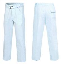 Bundhose Arbeitshose Berufskleidung Weiß Lebensmittel ÖkoTex 100% Baumwolle 290G