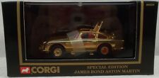 James Bond 007 Corgi - 1:43 Scale Special Edition Gold Aston Martin DB5 (MIB)