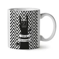 Rock Festival Art Music NEW White Tea Coffee Mug 11 oz | Wellcoda