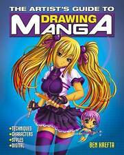 The Artist's Guide to Drawing Manga,Ben Krefta,New Book mon0000119538