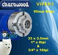 "Woodturning Charnwood VIPER3 Woodturning Chuck 3/4"" x 16tpi Thread"