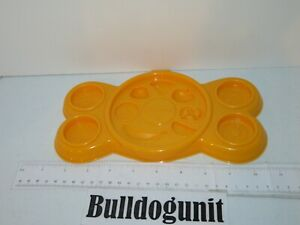 Play-Doh Cookie Monster's Letter Lunch Food Tray Press Part Only Hasbro 2010