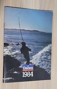 Daiwa Fishing Catalogue 1984