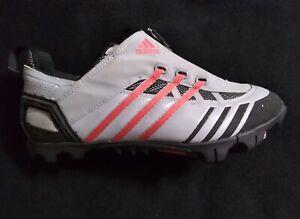 Adidas Mountain Sole Cycling Shoes Gray / Black Size 8 US 41 1/3 EU