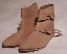 Viking Shoes Reenactment UK Jorvik Costume Shoes SCA Toggle boots Renaissance