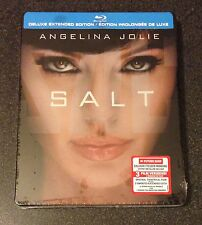 SALT Blu-Ray SteelBook Future Shop Exclusive 3 Versions Angelina Jolie New Rare!