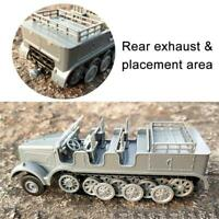 German Wwii 1/72 Half-track Armored Personnel Carrier Sd.kfz.7 Military 4D Model