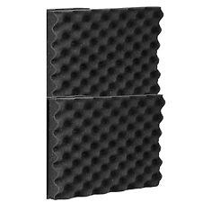 """Acoustic Foam Egg Crate Panel Studio Foam Wall Panel 12"""" X 12"""" X 1.5"""" (2 Pack)"""