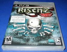 Risen 2: Dark Waters *Bonus DLC! Sony PlayStation 3 *Factory Sealed! *Free Ship!