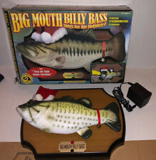 2000 Big Mouth Billy Bass The Singing Sensation Fish Motion Activated Christmas