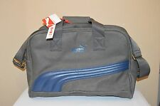 Puma Heritage Grip Bag Gray/Blue Handbag New