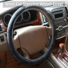 Universal Soft Car Steering Wheel Cover Wool Winter Warmer Auto Equipment