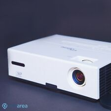 Optoma TX735 DLP Projector NEW LAMP with Remote and cables and HDMI adapter