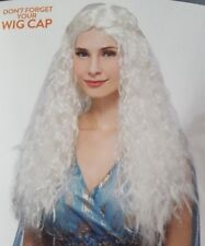 Crimped Wig With Braids Adult one size ages 14+