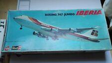 BOEING 747 JUMBO IBERIA CONGOST REVELL ESCALA 1/144 DESCATALOGADO Y MUY RARO