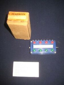 MARKLIN HO CONTROL PANEL #476/4-NOT TESTED-BOXED