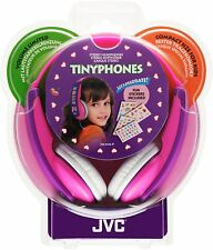 Genuine New JVC Tinyphones Kids Headphones - Pink, Fast & Free Postage