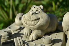 Alice's Adventures in Wonderland Cheshire Cat Table Stone Garden Ornament